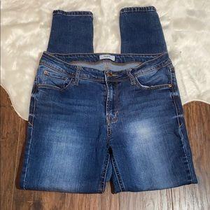 Kensie Effortless Ankle Skinny Jeans